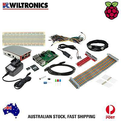 AU169.95 • Buy GPIO Starter Pack With Raspberry Pi 3 B+