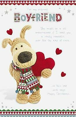 £5.60 • Buy Boyfriend Cute Boofle Christmas With Heart Nice Verse New Pop Up  Card Large