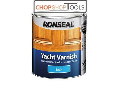 Ronseal RSLYVS500 Exterior Yacht Varnish Satin 500ml • 18.04£