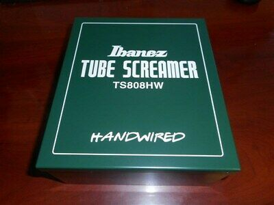 NEW - Ibanez TS808HW Hand-Wired Tube Screamer Overdrive Guitar Effects Pedal • 379.99$