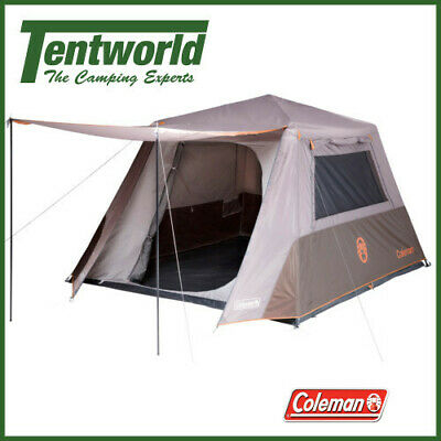 AU247.90 • Buy Coleman 6 Person Instant Up Camping Tent Full Fly Silver