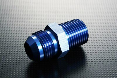 $7.60 • Buy AN8 AN -8 Male To M12x1.25 Straight Car Aluminum Alloy Fittings Adaptor