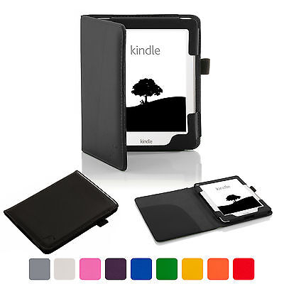 £7.99 • Buy Forefront Cases® Leather Case Cover Wallet Sleeve Amazon Kindle 2016 8th Gen