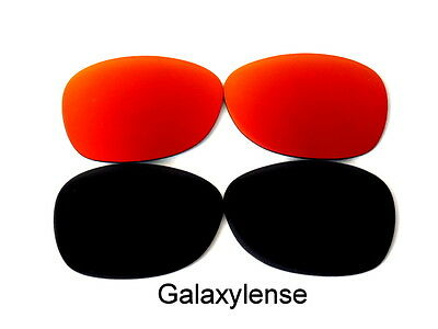 597aa5cf88 Galaxy Replacement Lenses For Ray Ban RB2132 New Wayfarer Black Red 55mm 2  Pair • 18.98