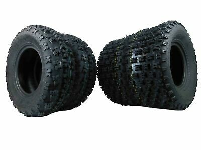 $189.99 • Buy 4 Yamaha Raptor 350 250 660 700 MassFx Front And Rear Tires 21x7-10 20x10-9
