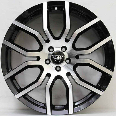 AU1699 • Buy 20 Inch G8 Wheels - Machined / Black  + New Tyres To Suit Ford FALCON
