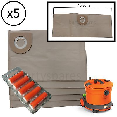 Large Dust Bags & Air Fresheners For Vax VCC-08 Vacuum Cleaner Hoover VCC08 • 6.90£