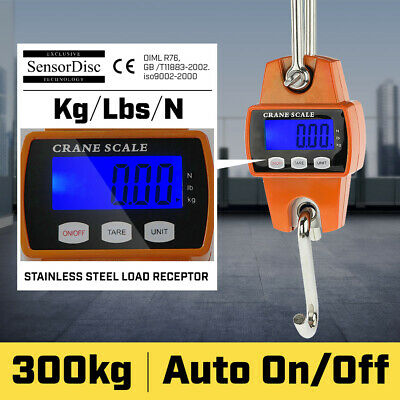 AU49 • Buy New 300 Kg Electronic Crane Scales Industrial Hanging Digital Weight