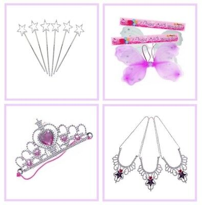 £4.79 • Buy Fairy Wings / Princess Crown / Angel Wand / Necklace ~ Girls Party Bag Fillers