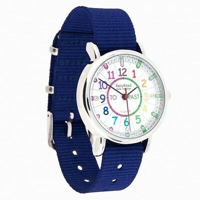 £22.99 • Buy Children's Easyread Learn To Tell The Time Childs Watch Blue