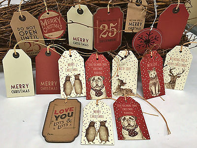 £1.99 • Buy Craft East Of India Larger Christmas Gift Tags Labels Gift Wrapping Free P&P