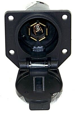 $ CDN11.24 • Buy Trailer Wiring Connector 7 Way Round Plug 7 Ways Blades Style Connections 6-24 V