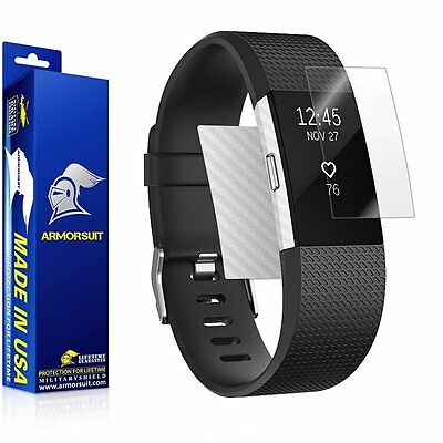 $ CDN18.36 • Buy ArmorSuit MilitaryShield - Fitbit Charge 2 Screen Protector + White Carbon Fiber