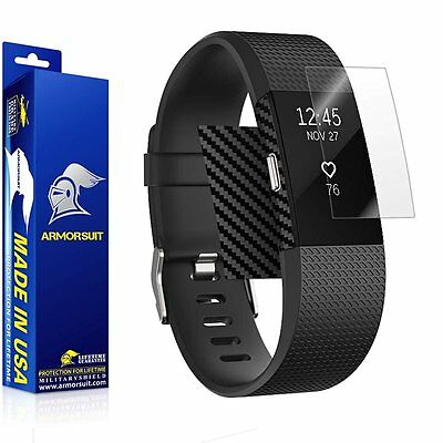 $ CDN18.36 • Buy ArmorSuit MilitaryShield - Fitbit Charge 2 Screen Protector + Black Carbon Fiber