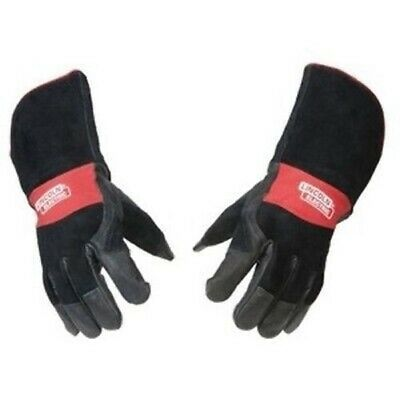 £23.26 • Buy Lincoln Electric Premium Leather MIG Stick Welding Gloves - K2980