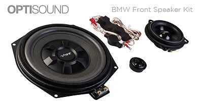 Vibe Optisound For BMW 1 Series F20 F21 Front Door Speakers Underseat Subwoofers • 318.99£