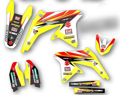 $159.99 • Buy 1999 2000 Rm 125 / 250 Graphics Kit Suzuki Rm125 / Rm250 Factory Decals
