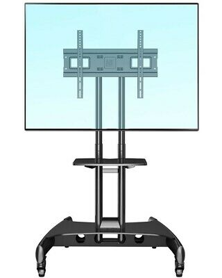 AU124.95 • Buy NB Steel Mobile TV Stand Cart AVA1500 Height-adjust Up To 65  Screens Or 45kg
