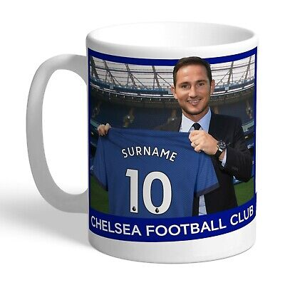 Personalised CHELSEA Football Club FC Manager Mug Gift Frank Lampard • 12.49£