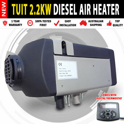 AU8100 • Buy NEW Planar 2KW Diesel Air Heater Digital Thermostat Caravan Motorhome RV Bus