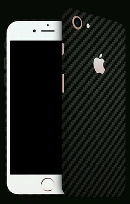 $ CDN22.70 • Buy Iphone 7 Skins By DBRAND Carbon Fiber Skin By Dbrand  BLACK Back Only