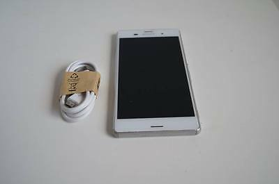 AU249 • Buy Sony Xperia Z3 White - FULLY UNLOCKED - Working Condition - Aussie STOCK