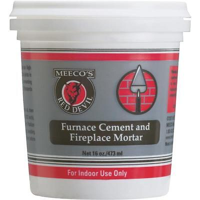 12 Pk Meeco´s Red Devil 1 Pt. Gray Furnace Cement & Fireplace Mortar 1353 • 57.89£