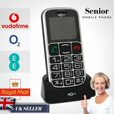 Senior Old People Mobile Phone Big Dial Buttons Ideal Birthday Gift For Mother • 25.90£