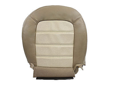 $130.63 • Buy 2003 2004 2005 Ford Explorer Eddie Bauer Driver Bottom Leather Seat Cover In Tan