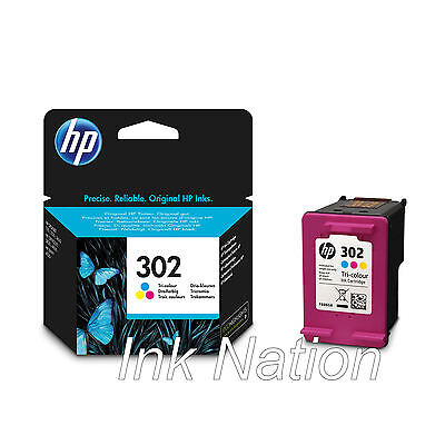 Original HP 302 Colour Ink Cartridge For ENVY 4527 InkJet Printer • 17.95£