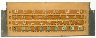 $ CDN38.06 • Buy Vintage * SILVERTONE 7069 RADIO Part:  GLASS STATION BAND DISPLAY 8  X 3