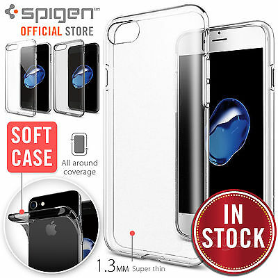 AU24.99 • Buy [FREE EXPRESS] IPhone 7 Plus Case, SPIGEN Liquid Crystal Soft Cover For Apple