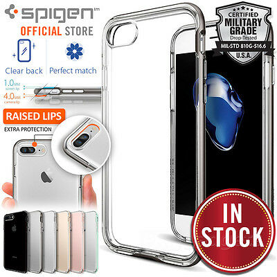AU44.99 • Buy [FREE EXPRESS] IPhone 7 Plus Case, SPIGEN Neo Hybrid Crystal Cover For Apple
