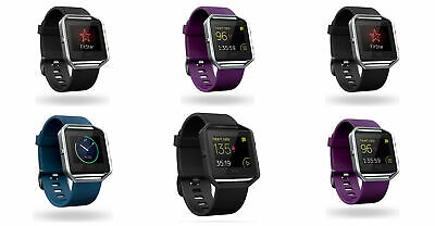 View Details Fitbit Blaze Smartwatch - Choice Of Small / Large And Silver / Purple / Blue • 63.99£