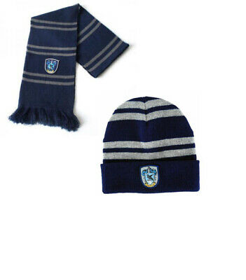 $ CDN24.89 • Buy 2pcs Harry Potter Ravenclaw House Scarf+ Beanie/Hat Wrap Soft Warm Costume Gift
