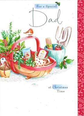 For A Special Dad' - Lucy Cromwell Hallmark Christmas New Card • 3.40£