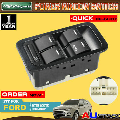 AU25.50 • Buy 5 Buttons Electric Master Window Switch For Ford Territory Illuminated 13 Pins