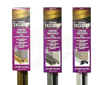 £18.49 • Buy Lowline Door Threshold Sill Weather Water Draught Excluder Seal Cill Stormguard