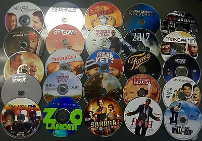 $ CDN38.11 • Buy Lot Of 100 Used ASSORTED DVD Movies - 100 Bulk DVDs - Used DVDs Lot - Wholesale