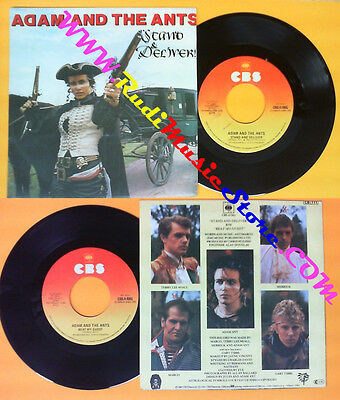 £4.30 • Buy LP 45 7'' ADAM AND THE ANTS Stand & Deliver Beat My Guest 1981 (*)  No Cd Mc Dvd