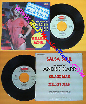 LP 45 7'' THE SOUND OF ANDRE CARR Island Man VINCE TEMPERA 1976 (*) No Cd Mc Dvd • 3.45£