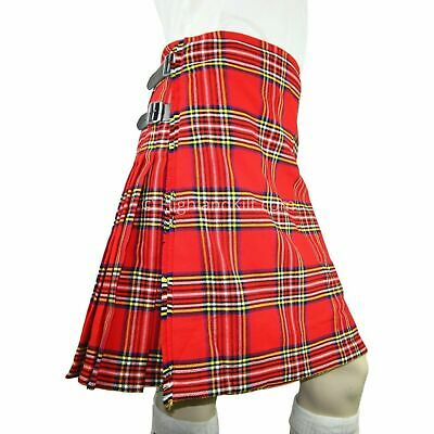 fdbb69a67 Men's Scottish Royal Stewart 5 Yard's 13 Oz Tartan Kilt Made For Casual Use  • 29.99