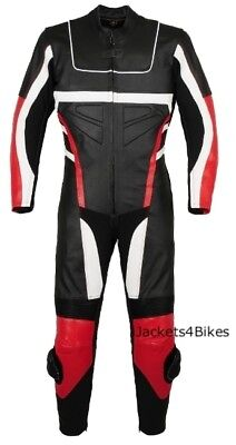$199.99 • Buy 1PC NEW MOTORCYCLE LEATHER RACING SUIT ARMOR Red