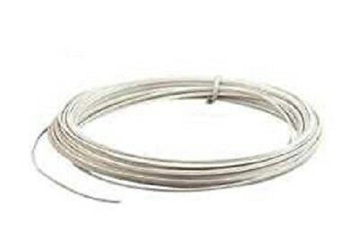 10m White Solid Core Flexible Bell Wire For Door Intercom Phone Entry Systems  • 2.99£