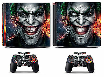 AU15.09 • Buy Joker 250 Vinyl Skin Sticker Cover For Sony PS4 Pro PlayStation 4 Pro Decals