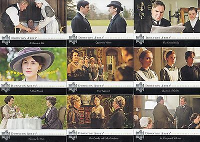 Downtown Abbey Series 1 & 2 2014 Cryptozoic Complete Base Card Set Of 126 Tv • 25.75£