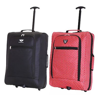 £9.99 • Buy Ryanair 55 Cm Cabin Carry On Hand Luggage Suitcase Approved Trolley Case Bag New
