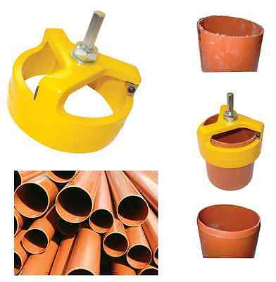 Pipe Chamfering Tool For 110mm Underground Soil Pipes CHOOSE TOOL OR BLADES!!!! • 9.99£