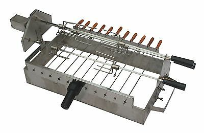 £179.99 • Buy Stainless Steel Cypriot Grill Top Rotisserie For Your BBQ