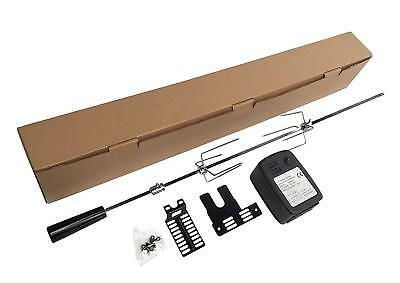 £46.99 • Buy Extra Quiet Motor Bbq Barbecue Rotisserie Spit Universal Kit - 36 Inch